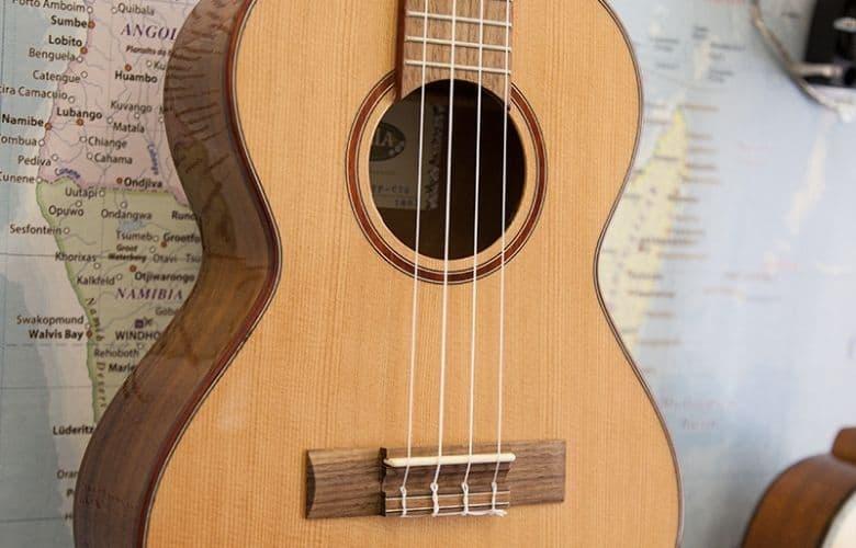 cedar top ukulele