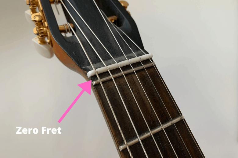 guitar zero fret