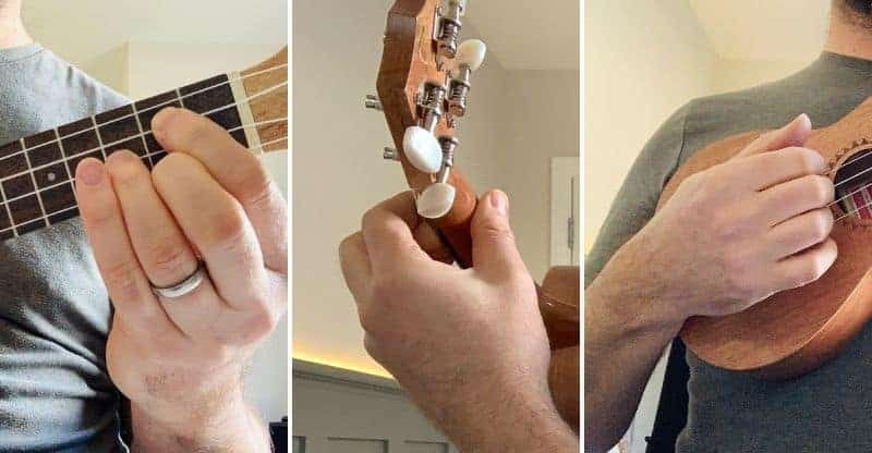 how to hold a uke