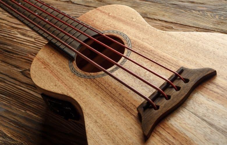 koa wood ukulele