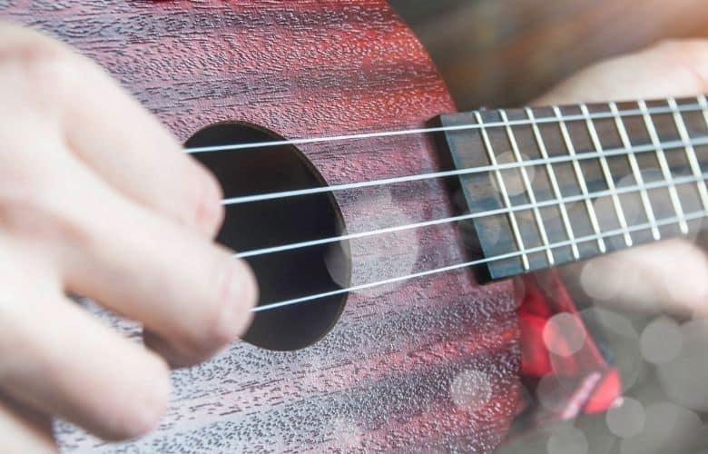 mahogany wood ukulele