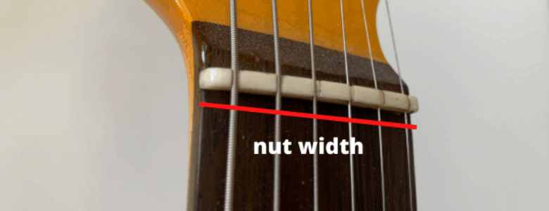nut width - what to measure