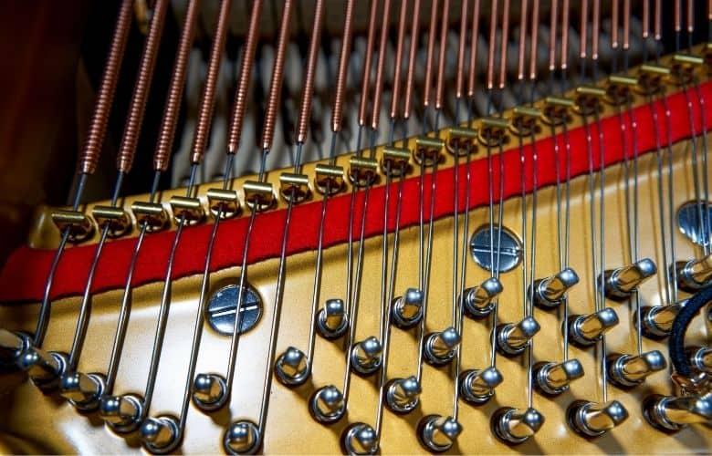 pinblock or wrestplank on piano