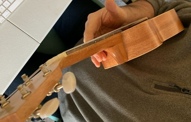 pinning the uke against your body