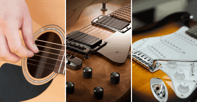 types of guitar pickguards