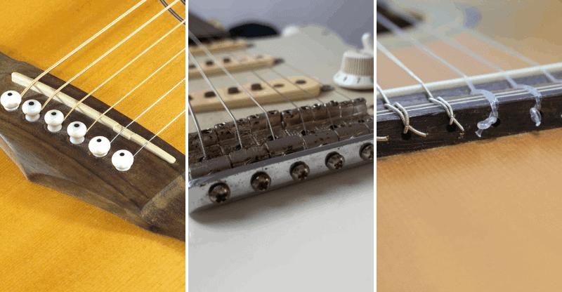 types of guitar saddles
