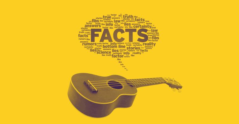 ukulele facts yellow