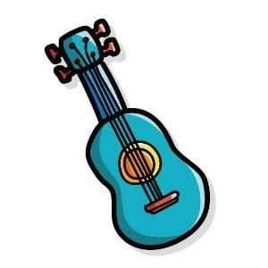ukulele illustration